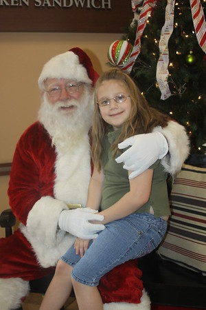 2012 Chickfila Christmas with Santa