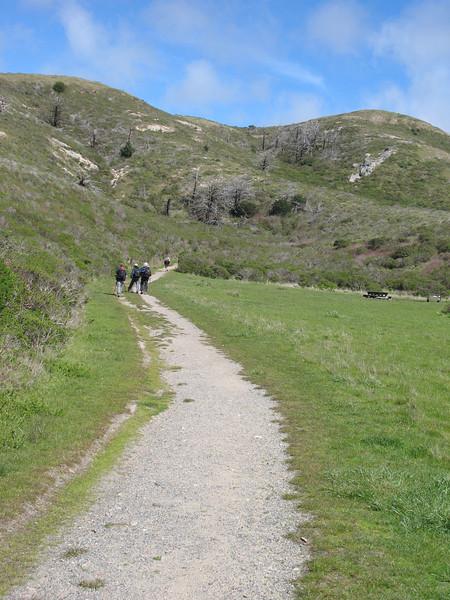 Short stretch on the Coast Trail.