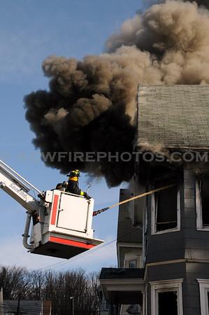 Lawrence, MA - 3rd Alarm - 85 Trenton St - 3/25/10