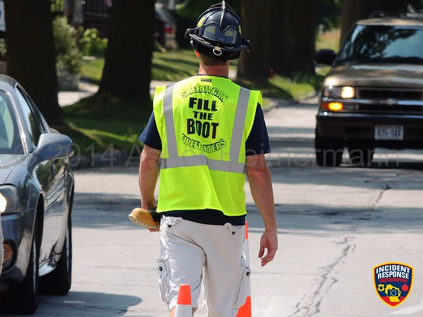 MDA Fill The Boot on August 15, 2014