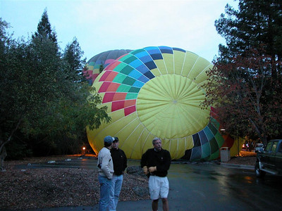 2002-10-25 Hot Air Ballooning in Napa