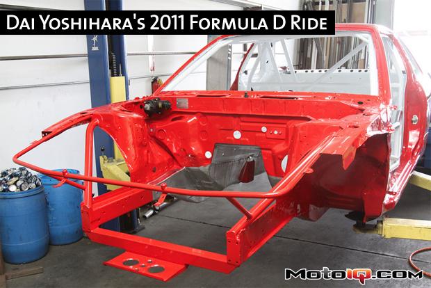 Dai Yoshihara's 2011 Formula D Ride