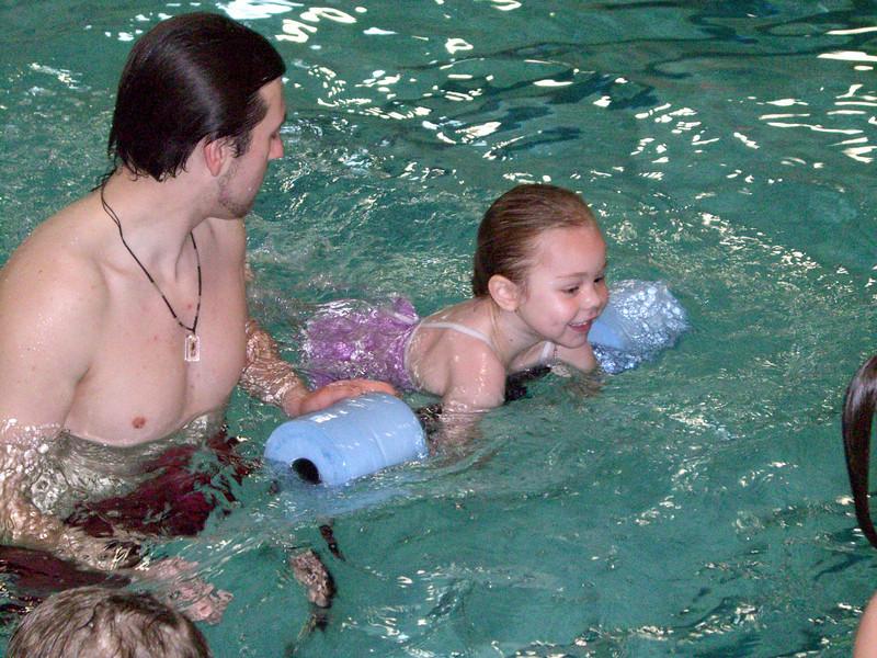 Swim lessons - week 6 (final class)