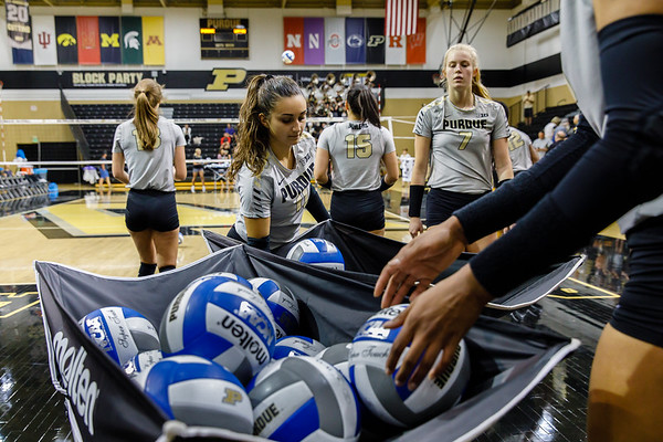Purdue Volleyball vs Wofford 2018-8-24