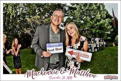 9/21/19 - Mackenzie & Matthew
