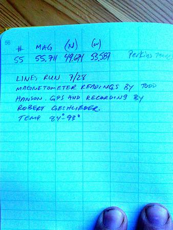 Magnetometer Survey Notes
