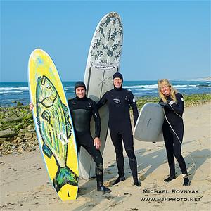 Montauk Surf, Jo and Scott 05.28.16