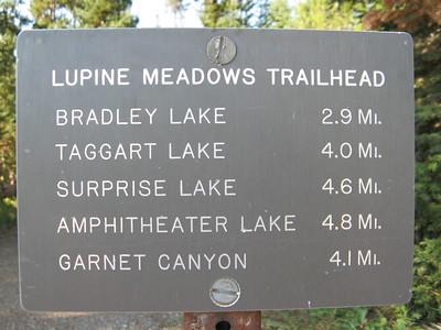 Grand Tetons South- Ampitheater lake hike