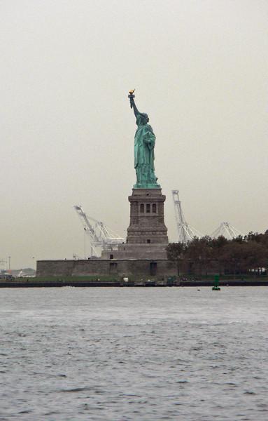 Frihetsgudinnan från Battery Park