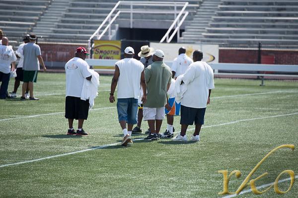 Cotchery Foundation 2012 Football Clinic
