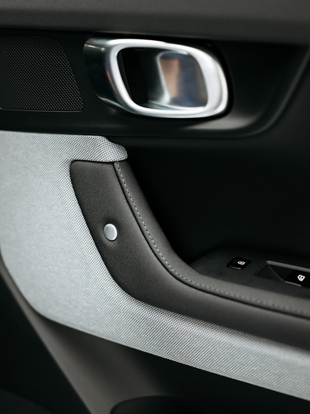 Interior of the Polestar 2 - Samuel Zeller for the New York Times
