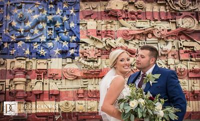 Brittney and Adam Wedding Ironworks