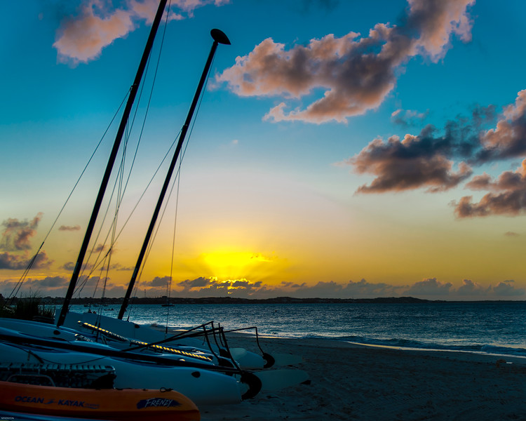 Sunset on the Beach - Turks & Caicos