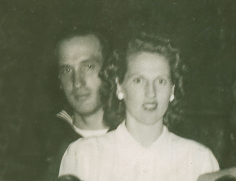 George (in the Coast Guard) and Betty