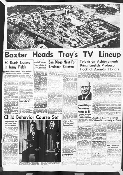 Daily Trojan, Vol. 46, No. Special Edition, January 01, 1955