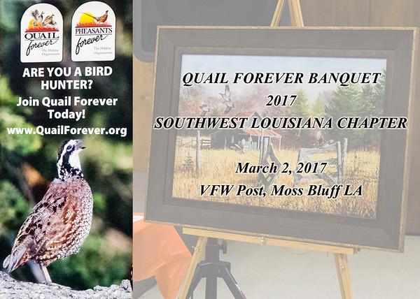 Quail Forever Banquet 2017  Southwest LA Chapter