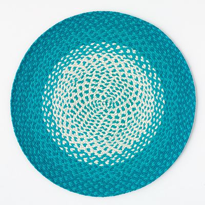 Home Studio Round Ombré Placemat