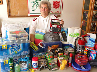 Emergency Kit, Salvation Army, Tamaqua (8-25-2011)