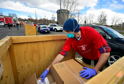 Photos: Project C.U.R.E. Medical Supply Donation Drive in Denver for COVID-19