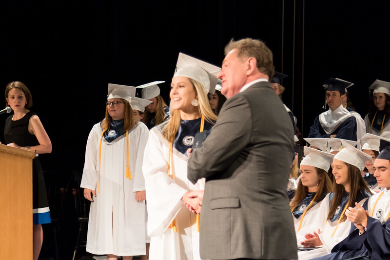 St. Thomas Aquinas High School graduation ceremony at The Music Hall in Portsmouth Sunday. [Scott Patterson/Fosters.com]