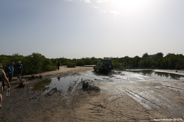 Senegal/Gambia Border at Kartong