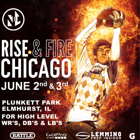 WR's, RB's, DB's, LB's OL & DL [Rise and Fire Chicago 2018]