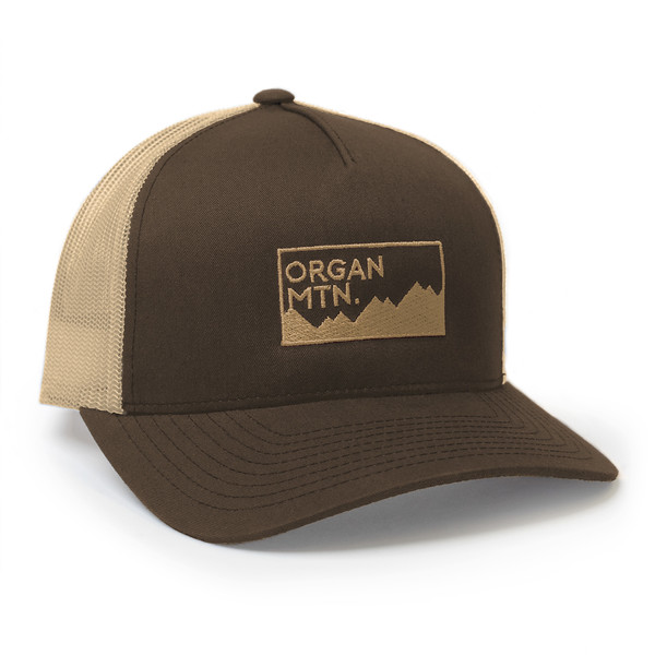 Organ Mountain Outfitters - Outdoor Apparel - Hat - Expedition Snapback Cap - Brown.jpg