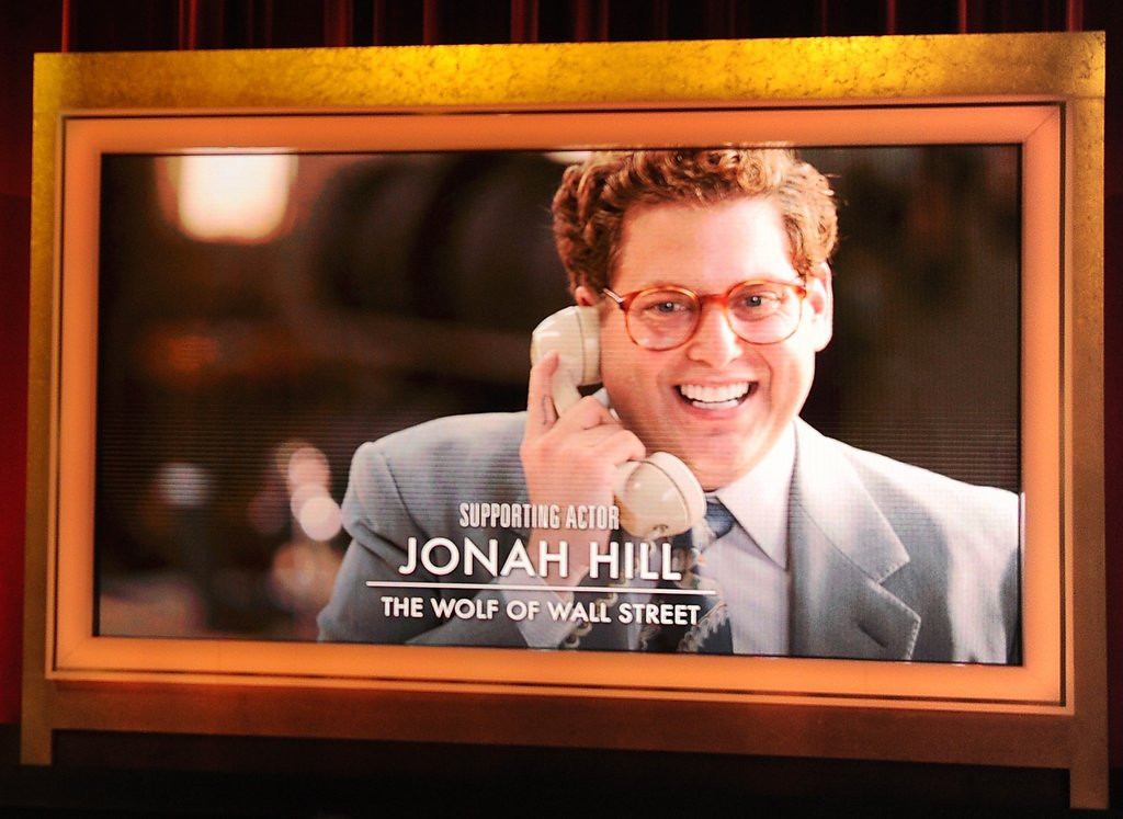 ". <p>6. (tie) JONAH HILL <p>�Wolf of Wall Street� co-star paid only $60,000, which he spent mostly on Cheetos. (unranked) <p><b><a href=\'http://www.huffingtonpost.com/2014/01/22/jonah-hill-paid-60000-wolf_n_4643520.html\' target=""_blank\""> HUH?</a></b> <p>     (Kevin Winter/Getty Images)"