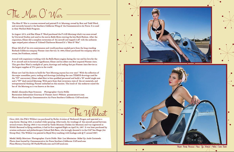 Curtis Noble Photography Model: Molly Morrison Hair: Lou Montecino MUA Ande Castaneda Published in Dames Planes and Automobiles Magazine