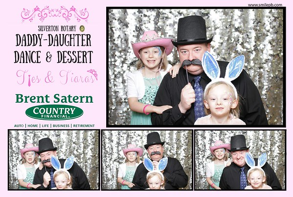 Silverton Rotary Daddy Daughter Ties & Tiaras 2018