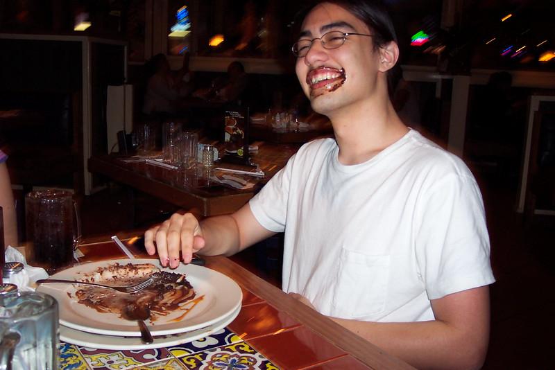 A satisfied chinaman
