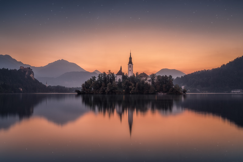 Awakening at Lake Bled