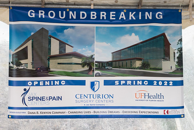 Centurion Groundbreaking 2-17-21