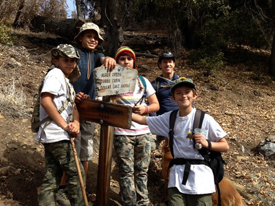 Troop 3 Day Hikes 2014