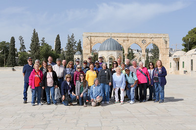 Temple Mount, Pics with Matthew, Last Dinner at Hotel 3-11-20