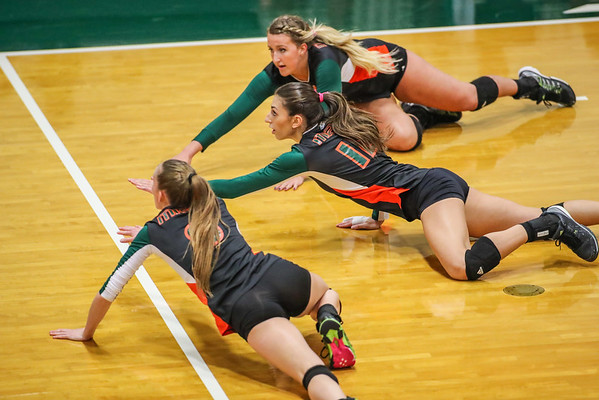 Clemson vs. University of Miami Volleyball