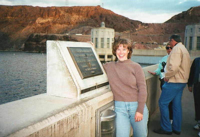 Hoover Dam Two State Amy
