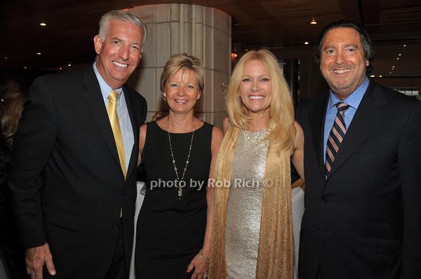 Craig Clausen, Lynn Clausen, Leesa Rowland, Larry Wohl   photo  by Rob Rich © 2014 robwayne1@aol.com 516-676-3939
