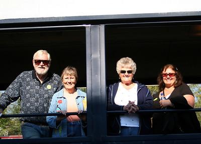 10/06/08 - Train ride from Blue Ridge, GA to McKayesville, TN