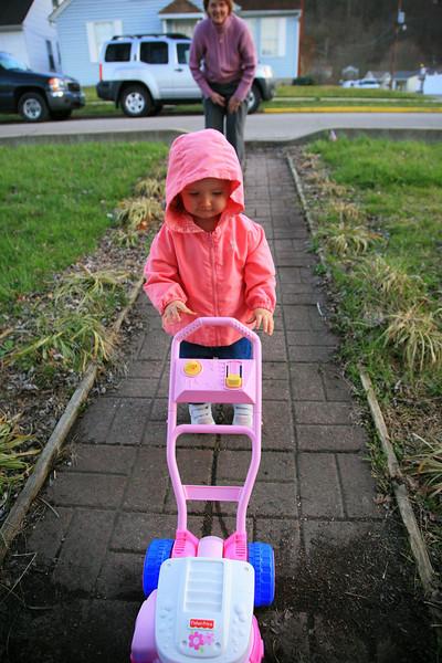 Amelia's Lawn Mower from Nana/Granddad