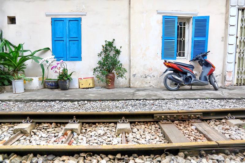 Train Street - Hanoi
