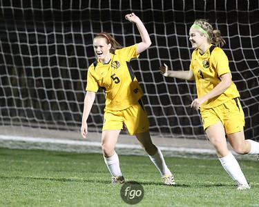 Minneapolis Edison v DeLasalle Girls Soccer 9-29-11