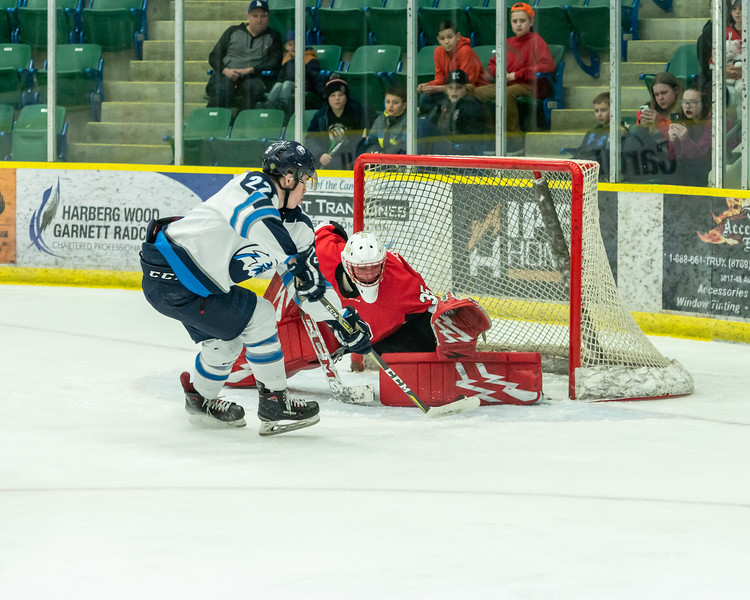 AJHL Playoffs: R1G7: Camrose Kodiaks v Canmore Eagles