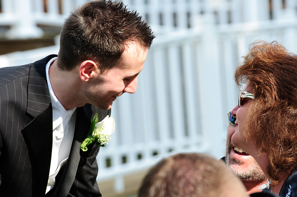Aiken/Love pre-ceremony