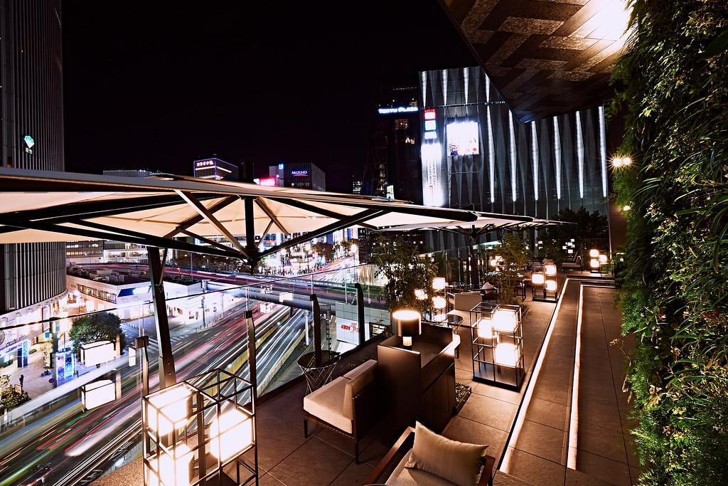 Gate Hotel Tokyo lobby terrace