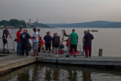 6-28-11 Boat Drill, Hudson River