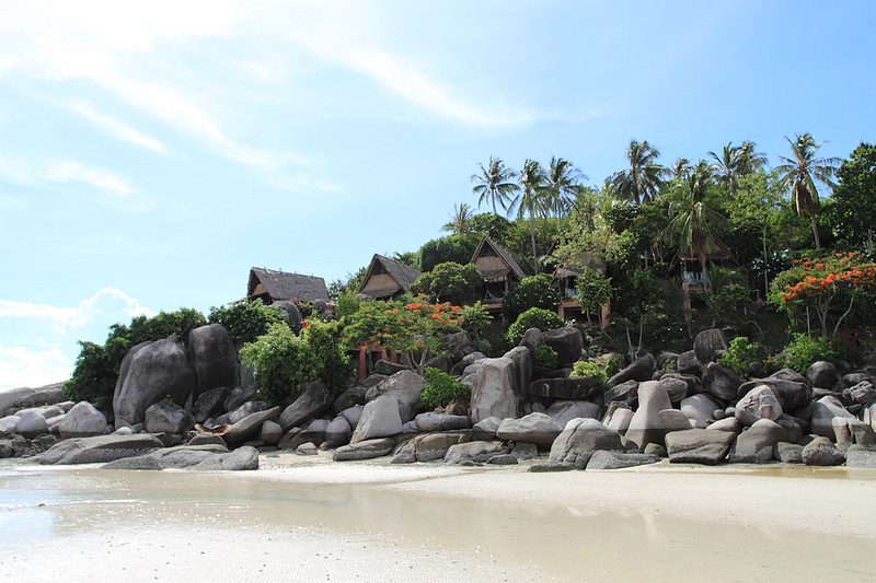 Northern tip of Sairee Beach