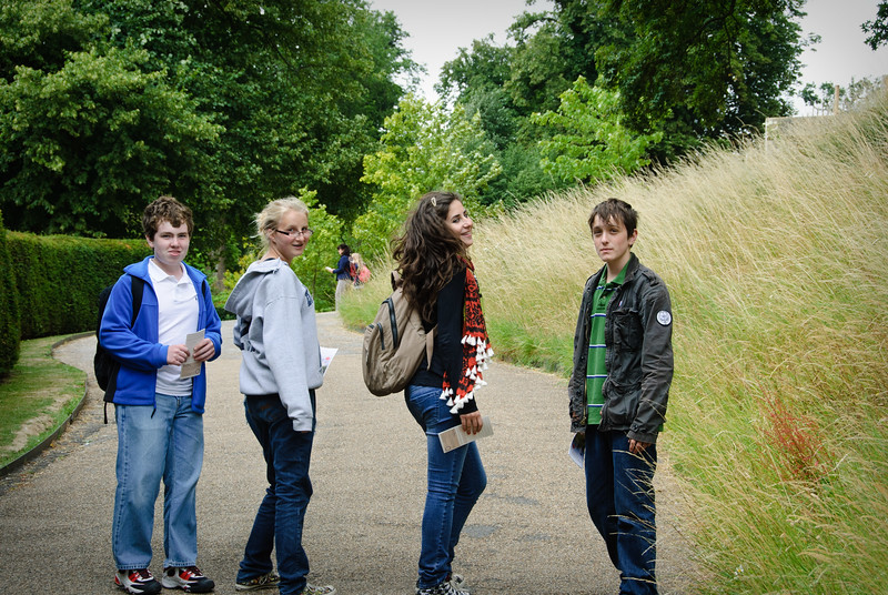 Walking up to Arundel Castle