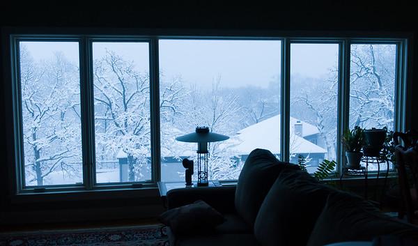 Snow March 24, 2013