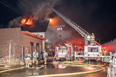 Orange St. Fire (Waterbury, CT) 2/22/18